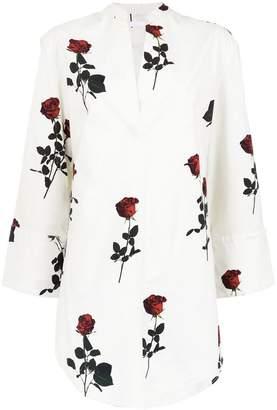 OSKLEN rose print dress