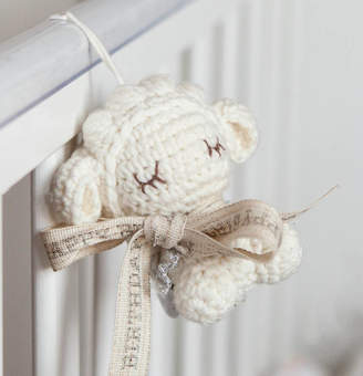 Oh my giddy aunt! Personalised Tiny Lamb Soft Toy Hanging Decoration