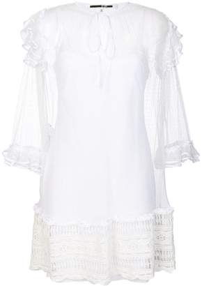 McQ lace detail dress