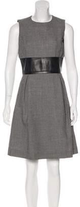 Michael Kors Tweed Knee-Length Dress