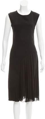 CNC Costume National Sleeveless Midi Dress