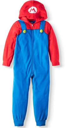 Super Mario Bros. Boy's Mario Hooded Sleeper (Big Boys & Little Boys)