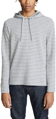 Vince Double Knit Stripe Hoodie