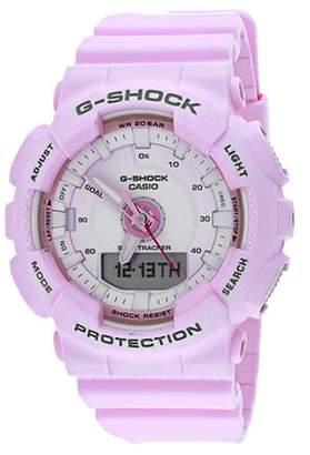 Casio G-Shock S Series 46mm Resin Women's Sports Watch (Pink) GMAS130-4A