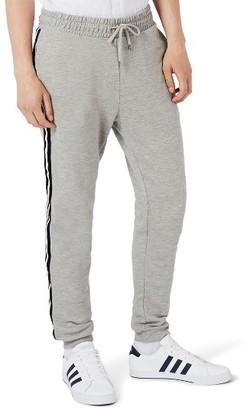 Men's Topman Stripe Taped Sweatpants $40 thestylecure.com