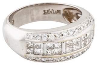LeVian Le Vian 14K Diamond Band white Le Vian 14K Diamond Band