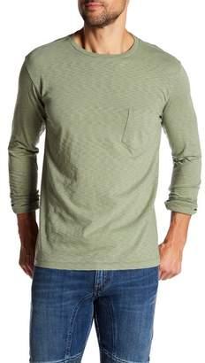 Vintage 1946 Long Sleeve Garment Dye Slub Knit Tee
