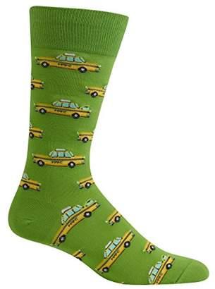 Hot Sox Men's Novelty Crew Socks