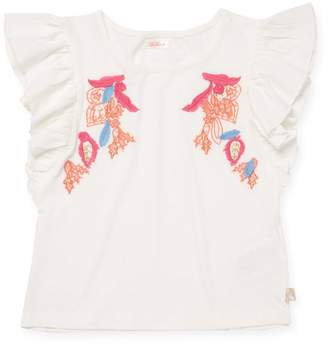 Billieblush Little Girl's & Girl's Embroidered Top