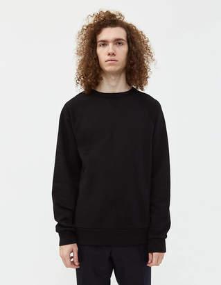 Dries Van Noten Heard Crewneck Sweatshirt in Black