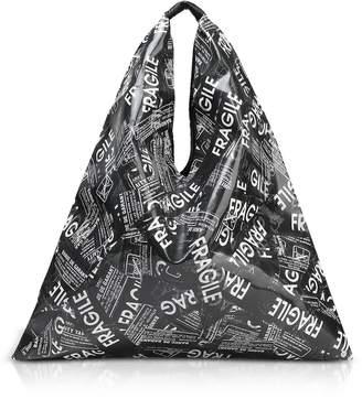 MM6 MAISON MARGIELA Mm6 Maison Martin Margiela Fragile Printed Japanese Tote Bag