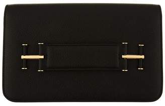 Tom Ford Small Tara Leather Clutch Bag