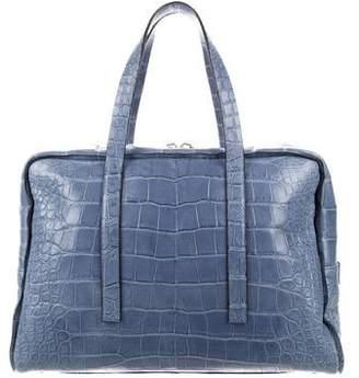 Calvin Klein Collection Crocodile Weekender Bag