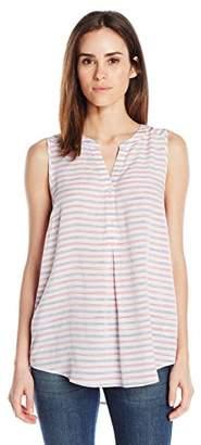 G.H. Bass & Co. Women's Space-Dye Stripes Top