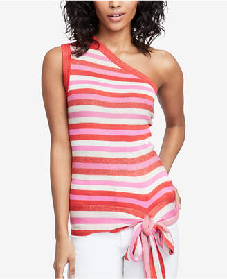 Rachel Roy Striped One-Shoulder Top, Created for Macy's