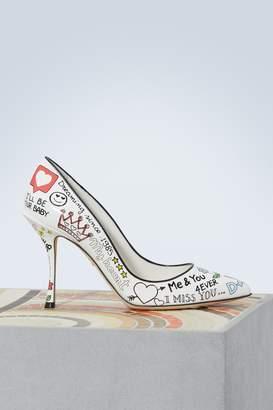 Dolce & Gabbana Lori Graffiti pumps