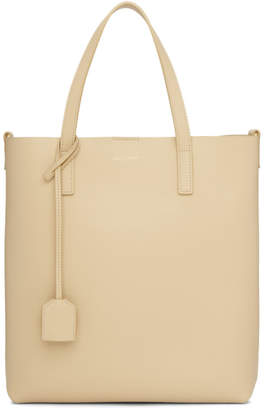 Saint Laurent Beige Toy North South Shopping Tote