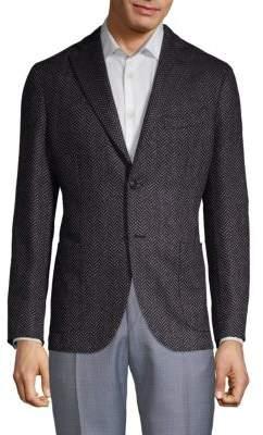 Boglioli Herringbone Sport Jacket