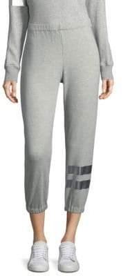 Wilt Silver Foil Jogger Pants