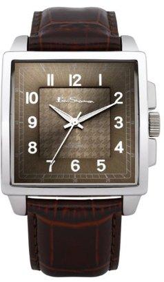 Ben Sherman (ベン シャーマン) - ベンシャーマンMen 's Quartz Watch with Brown DialアナログDisplay and Brown PUストラップbs028