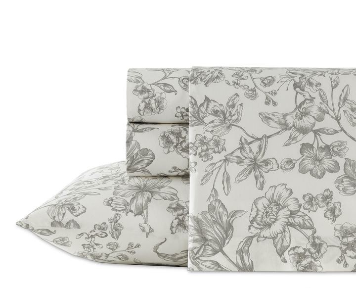 Wedgwood Wedgwood® Vibrance Sheet Set in Grey