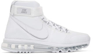 Nike White Kim Jones Edition Air Max 360 High-Top Sneakers