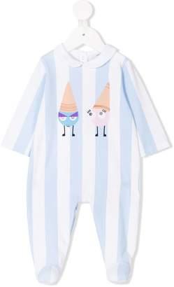 Fendi striped pyjama