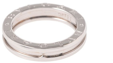 Bvlgari  Bulgari B-Zero 1 18K White Gold Ring Size 8.25