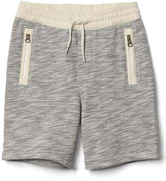 Marled zip shorts $19.95 thestylecure.com
