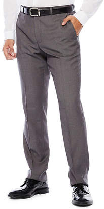 Co THE SAVILE ROW The Savile Row Company Birdseye Flat-Front Suit Pants - Slim Fit