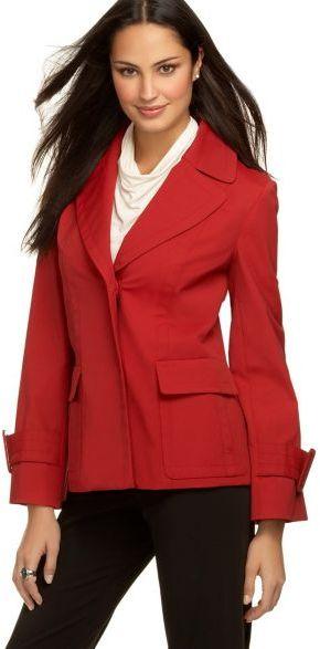 Alfani Notched-Collar Jacket