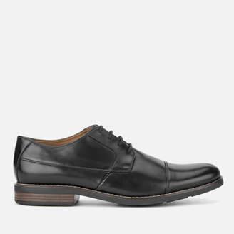 fbcacf23dd71 Clarks Men s Becken Cap Leather Derby Shoes - Black