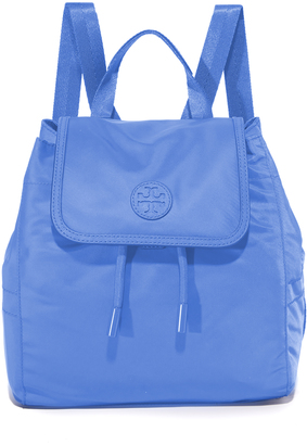 Tory Burch Scout Mini Nylon Backpack $225 thestylecure.com