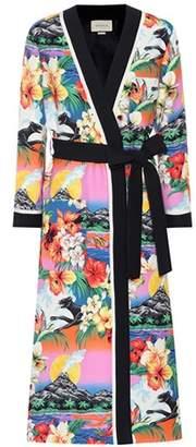 Gucci Printed kimono coat