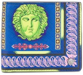 Versace foldover Medusa wallet