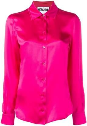 Moschino classic plaid shirt