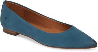 Frye 'Sienna' Pointy Toe Ballet Flat