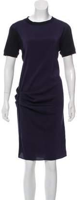 Brunello Cucinelli Silk Shift Shirtdress