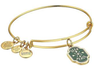 Alex and Ani Words are Powerful Seek Peace Bangle