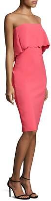 LIKELY Women's Scalloped Knee-Length Dress