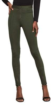 BCBGMAXAZRIA Christopher Front-Zipper Moto Legging