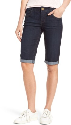 Wit & Wisdom Ab-solution Denim Bermuda Shorts