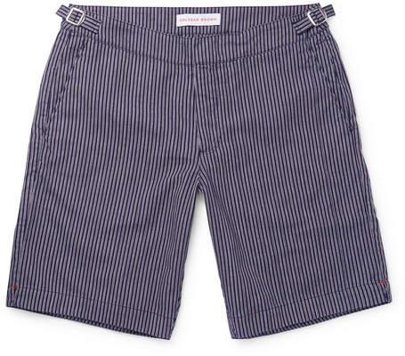 Orlebar Brown Dane Striped Canvas Shorts