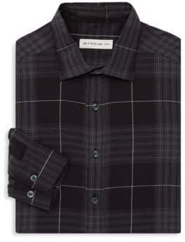 Etro Window Casual Button-Down Shirt