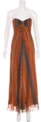 Laundry by Shelli Segal Silk Maxi Dress