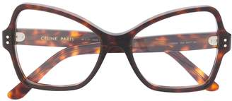 Celine oversized frame glasses