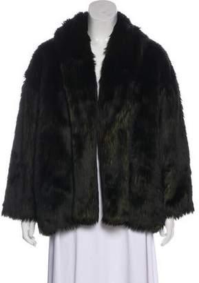 Alice + Olivia Fur Long Sleeve Jacket