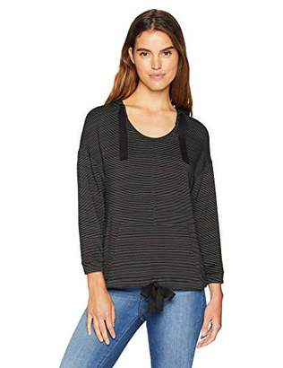 Daily Ritual Women's Supersoft Terry Drawstring Waist Hoodie