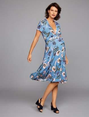 Yumi Kim Wrap Maternity Dress