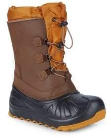 UGG Little Boy's Ludvig Waterproof Leather & Sheepskin Boots